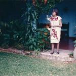 Thelma in Oaxaca, 1987